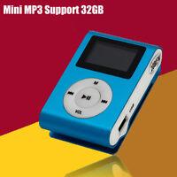 Mini Usb Clip Mp3 Lettore Schermo Lcd Supporto 2/4/8/16gb/32gb Micro Sd Tf -  - ebay.it