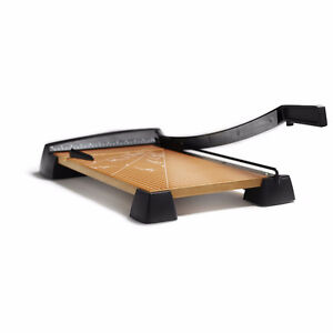 X-Acto Heavy Duty Wood Base Guillotine Paper Trimmer