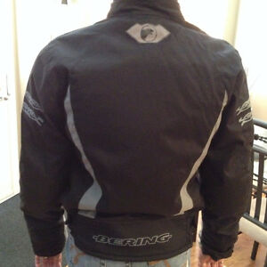 WOMEN'S BERING ARMOUR TEXTILE MOTORCYCLE JACKET