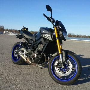 yamaha fz 09 stock oem signals and tail section