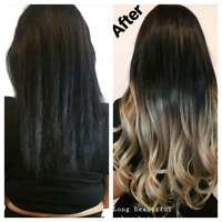 $300 Fall special microlink/Tape In Hair Extensions $170G