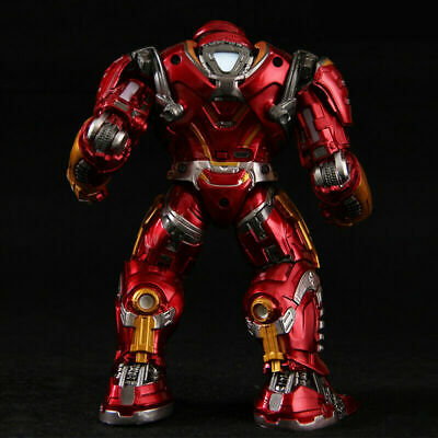 Avengers End Game Iron Man LED Hulkbuster 2.0 Armor Mark 8/'/' Action Figure