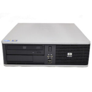 HP Compaq Business Desktop Small Form Factor - Core 2 Quad 4GB