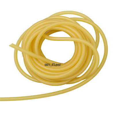 57mm Natural Latex Rubber Tubing Slingshot Catapult Surgical Tube Elastic Parts