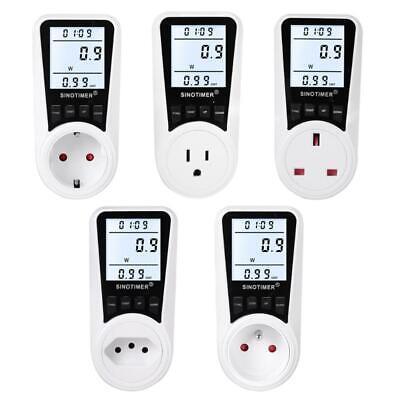 Digital Wattmeter Ac Energy Power Meter 110v-230v Socket Power Monitor Euusuk