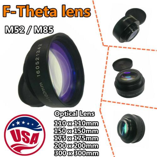 US Fiber Laser Machine Scanning Lens Area F Theta Lens M85 M52