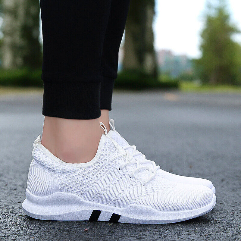 Womens sneakers Trainers Lace Up Running Shoes Breathable Me