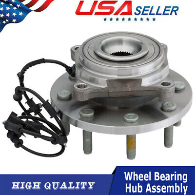 Front Wheel Hub & Bearing Assembly for 2012 2013 DODGE RAM 3500 2500 4WD w/ABS