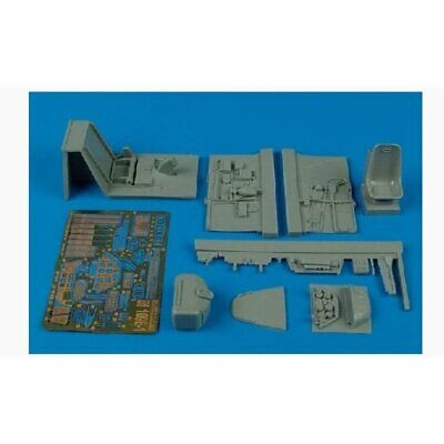 Aires 2103 1:3 2 Bf 109E-1 Cockpit Set for Eduard Kit