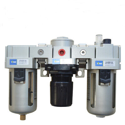 New 12 Filter Regulator Control Moisture Trap Lubricator For Air Compressor