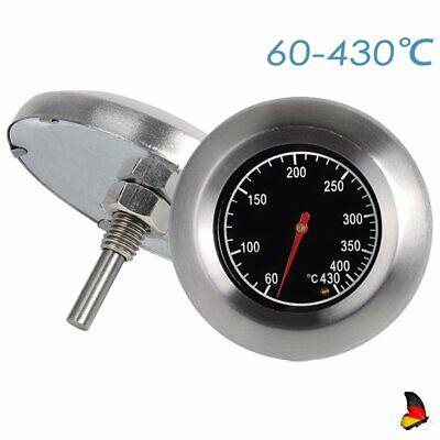 BBQ Thermometer Grillthermometer bis 60-430℃ für Grills Gasgrill Grillwagen
