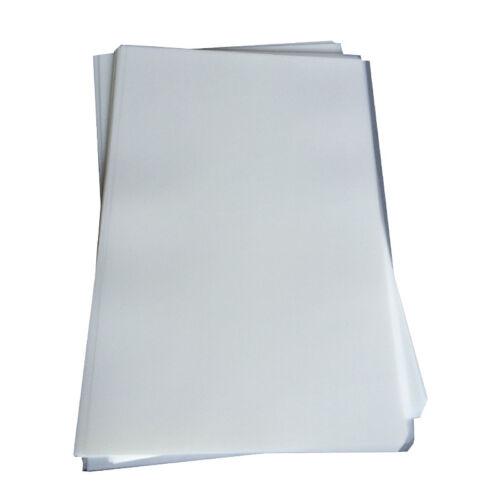 20 Sheets Screen Printing Hot / Cold Peel Plastisol Paper Heat Transfer Film
