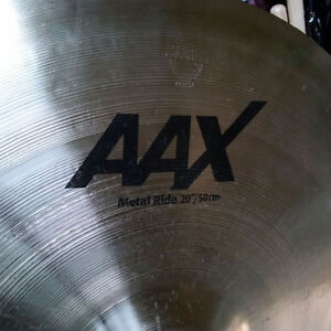 "Sabian AAX 20 "" Metal Ride"