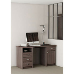 Monaco Contemporary Desk Brown New in Box