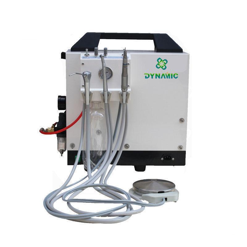 Dental Delivery Unit Cart with Air Compressor + 3 Way Syringe 2/4 Hole DU895