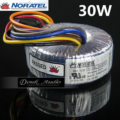 Noratel 30va Power Toroidal Transformer Dual 15v18v For Headphonamplifier Dac