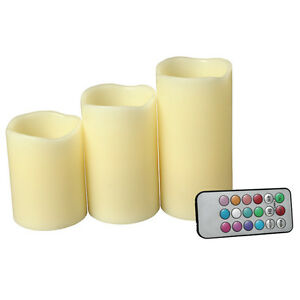 Candles-Flameless-LED-Ivory-Color-with-Remote-Set-of-3-4-5-6