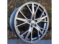 """20"""" RS6 Performance Style for Audi A4, A5 and A6"""
