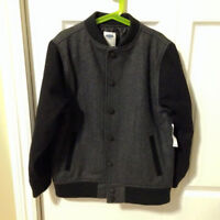 Boy Old Navy Wool Coat Size 8 - BRAND NEW WITH TAGS!