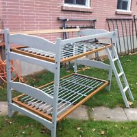 BUNK BEDS VERY SOLID $150. FREE DELIVERY IN TOWN