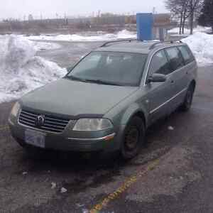 2002 Volkswagen Passat GLS Wagon 1.8T With Safety and Emissions