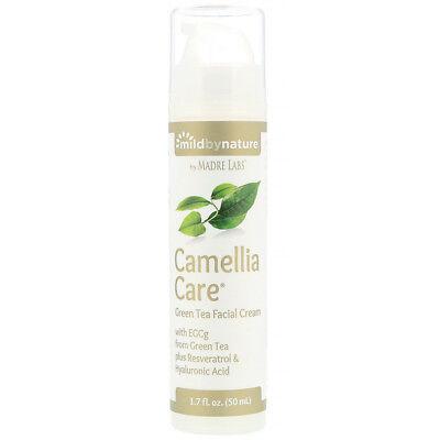 Green Tea Facial Cream, 1.7 fl oz (50 ml)  Camellia Care - Mild By Nature
