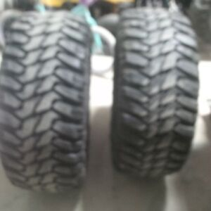 Two 33.12.5R20LT