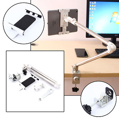Verstellbar Halterung Halter Tisch Bett Ständer für iPad Smartphone Tablet NEU~