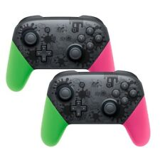 2x Manette de contrôleur de Bluetooth Pro sans fil Splatoon pour Nintendo Switch