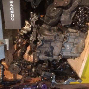 Tête moteur Porsche 2.7 litres avec came et intake