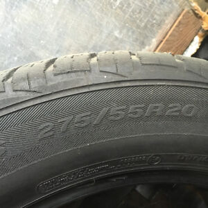 4 tires  275/55r20