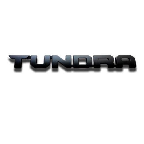 FOR 2000-2019 Toyota Tundra Matte Black Out Emblem Badges tailgate 9 Piece Kit