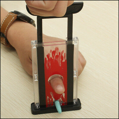 Magic Finger Chopper Guillotine Hay Cutter Magician Trick Prop Funny Magic Toy