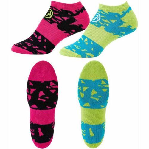 Zumba Dress To Compress Socks 2 Pack! ~ New! ~ Free Shipping!
