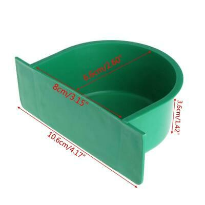 Bird Feeder Water Food Feeding Parrot Cage Plastic Bowl Pigeon Drinking Device.