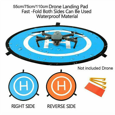 75/110cm Helicopter Landing Pad RC Drone Landing Mat Helipad Unmanned Aerial