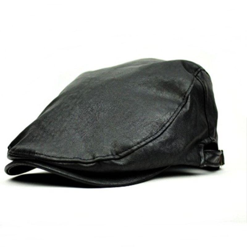 Boys Black Flat Cap Ebay