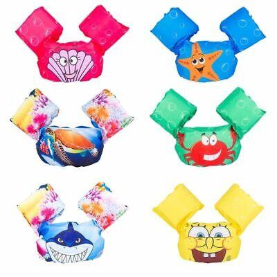 Kids Cartoon Life Jacket Safety Float Vest Puddle Jumper Swimming Pool for - Childrens Safety Vest