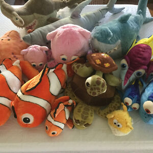 You've found Disney Pixar Dory, Nemo, and Friends plushies