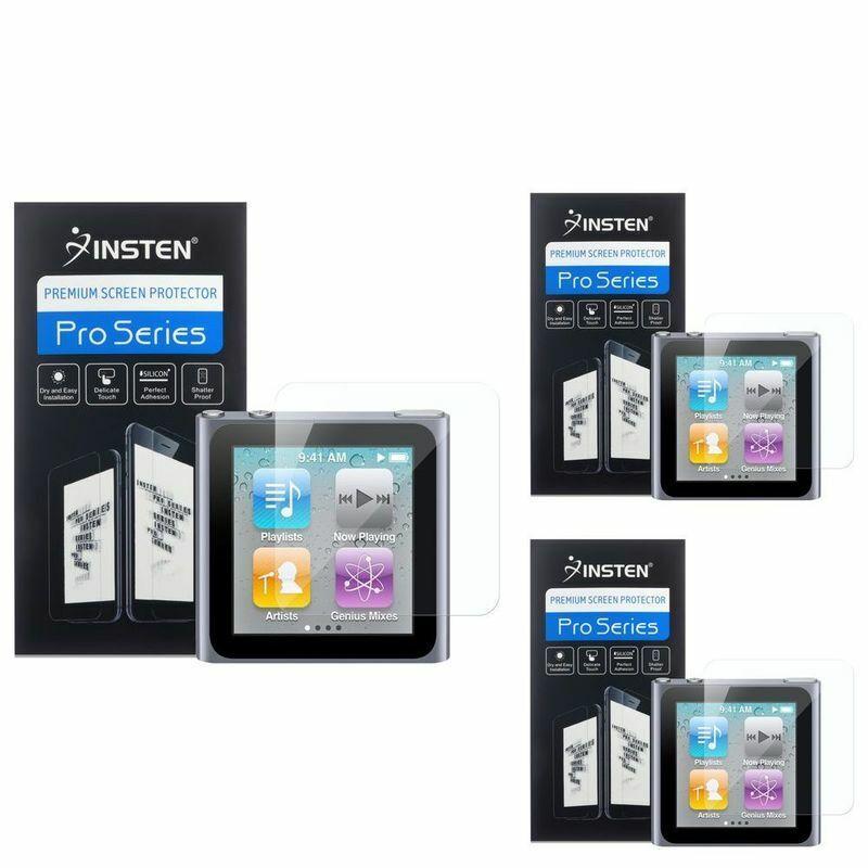 3 x LCD Screen Protector Film Guard Accessory For Apple iPod Nano 6G 6th Gen 6 G