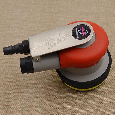 Mini Handheld Pneumatic Air Tools Palm Orbital Sander Polisher 3 Inch Pads Circuit