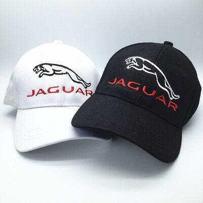 Fashionable JAGUAR Car Logo Embroidered Baseball Hat Adjustable Hip-hop Dad Cap](Car Hop Hat)