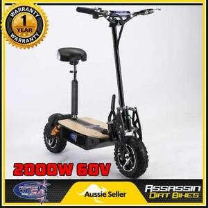 ASSASSIN USA DE2000W 2000WATT BRUSHLESS 60V ELECTRIC SCOOTER 1000 Taren Point Sutherland Area Preview