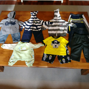 Boys 12-18 month lot