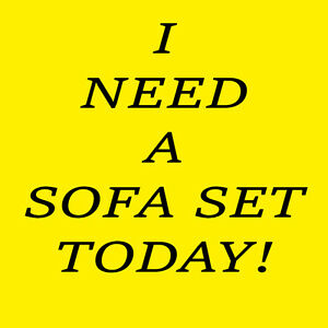 *NEED SOFA & LOVE SEAT TODAY** DELIVERED