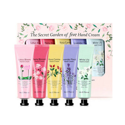 [MEDI FLOWER] The Secret Garden Of Five Hand Cream 50g * 5ea - BEST
