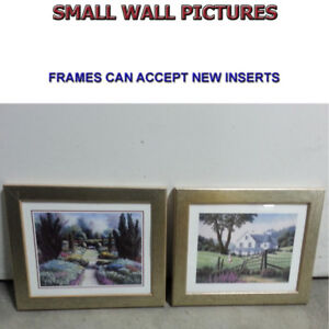 WALL PAINTINGS WITH VERSITLE FRAMES IN EXCELLENT CONDITION