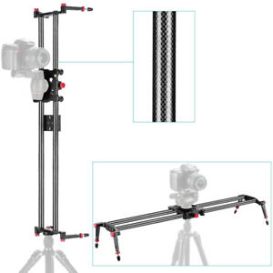 "Carbon Fiber Camera Track Dolly Slider System Neewer 31.5""/  NEW"