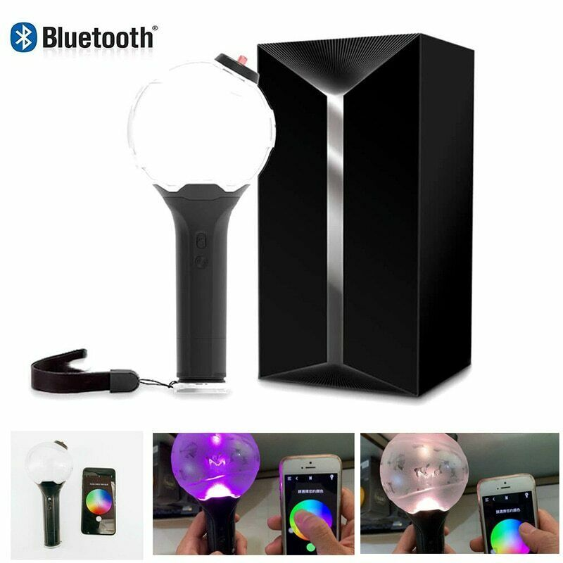 2019 BTS Bluetooth Light Stick Ver 3.0 Army Bomb LED Lamp Lightstick US Entertainment Memorabilia