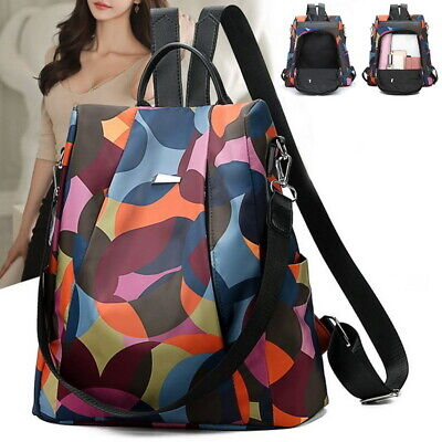 Women Lady Backpack Purse Anti-Theft Rucksack Waterproof Oxford Cloth School Bag](New School Clothes)